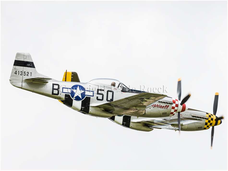 P51D Mustang Marinell, 5Q-B Mustang fighter
