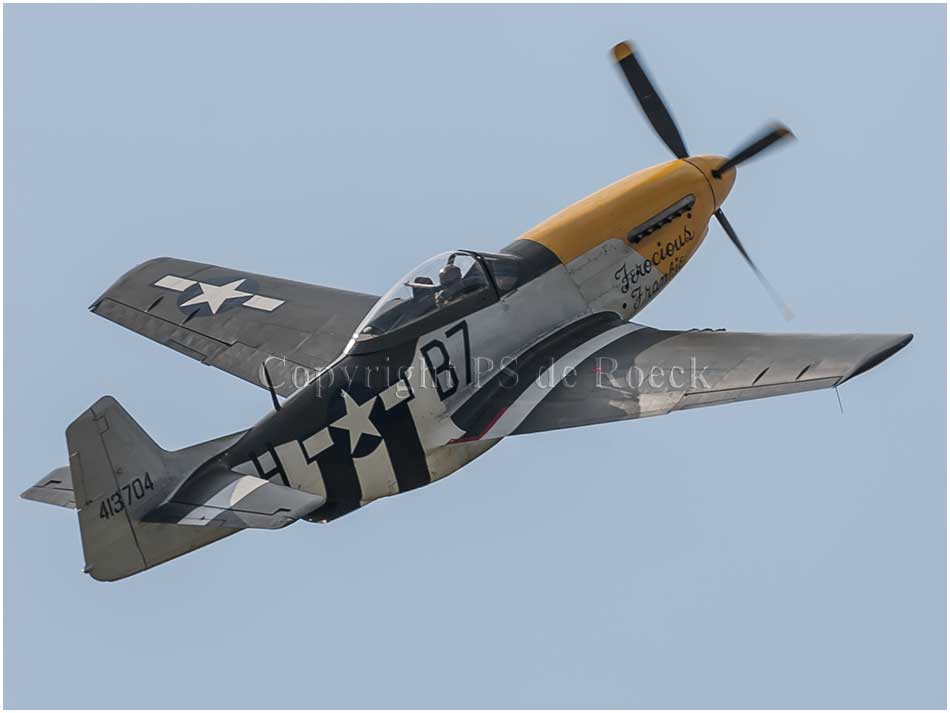 North American P51 Fearless Frankie