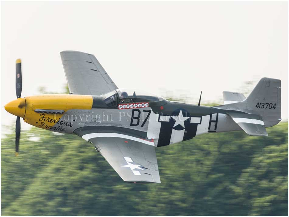North American P51 Mustang Ferocious Frankie
