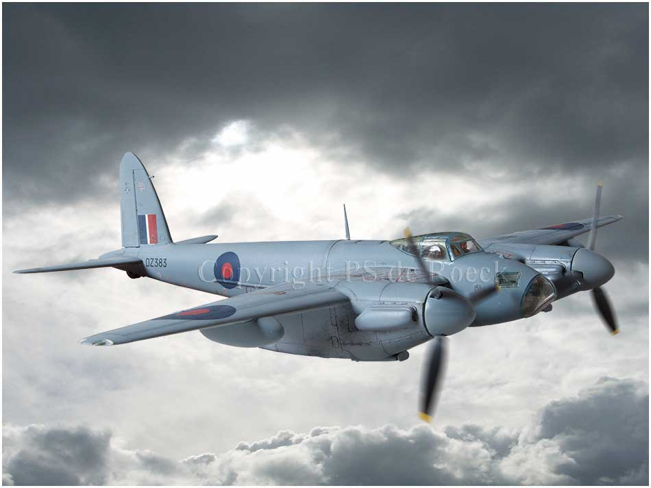 Mosquito fighter de Havilland